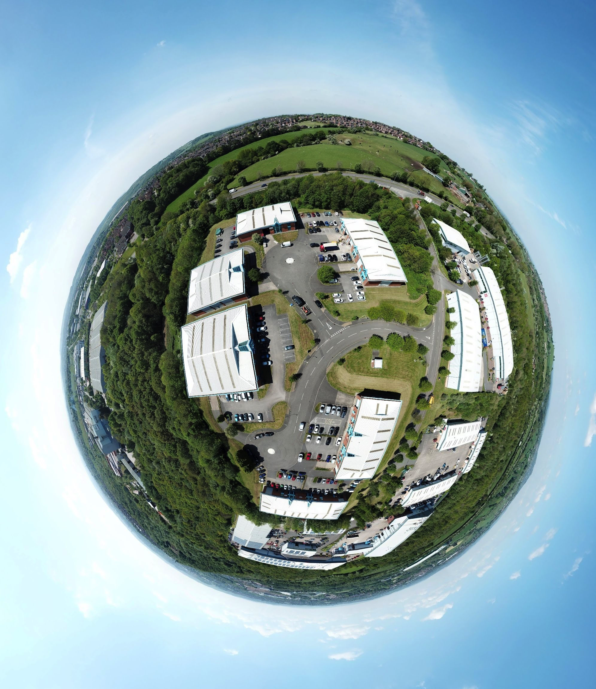 Virtual Tour little planet